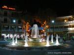 Lignano - nocna fontana