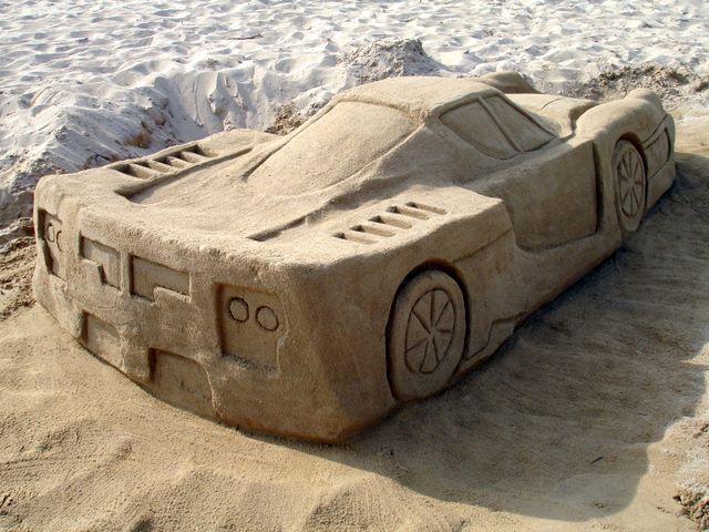 Sculture di sabbia 2009 by 39 39 toni 39 39 for Setacciavano la sabbia dei fiumi